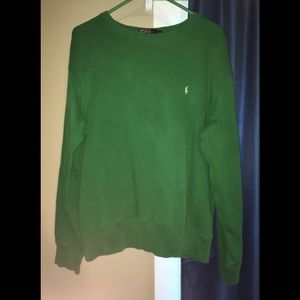 Polo by Ralph Lauren Green Sweatshirt Vintage